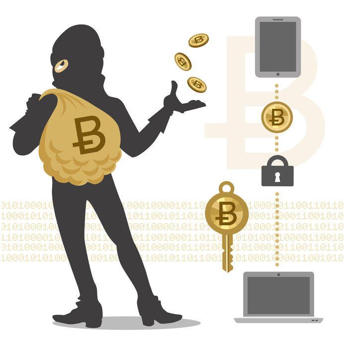 詐欺に使われたり過大評価されたりのビットコイン