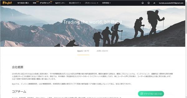 Bybitについて(画像で引用)