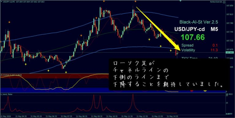 ブラックAIストラテジーFX:ドル円(5月21日)その2-2