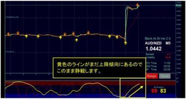ブラックAIストラテジーFX サイン通りにして臨時収入20万円のトレード動画