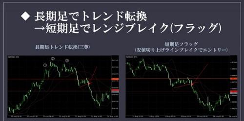 知明流FX チャートパターン