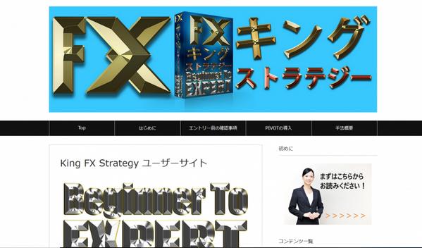 FX King strategy 基本トレード戦略