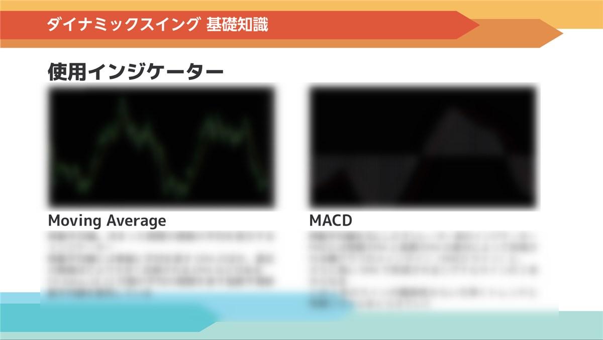 FX-Katsu 億トレーダー・養成アカデミー:ダイナミックスイングで使うインジケーター