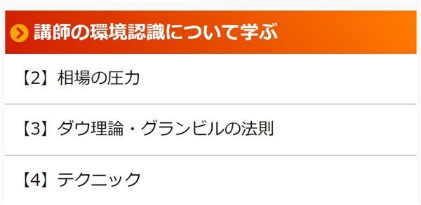 FX-Katsu 億トレーダー・養成アカデミー:環境認識コンテンツ