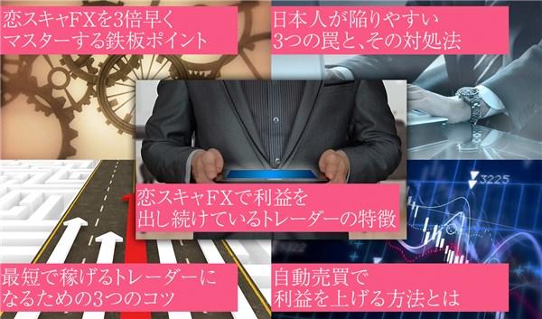18万円のFX特典あげます。怪しいですか?【恋スキャFXビクトリーDX】