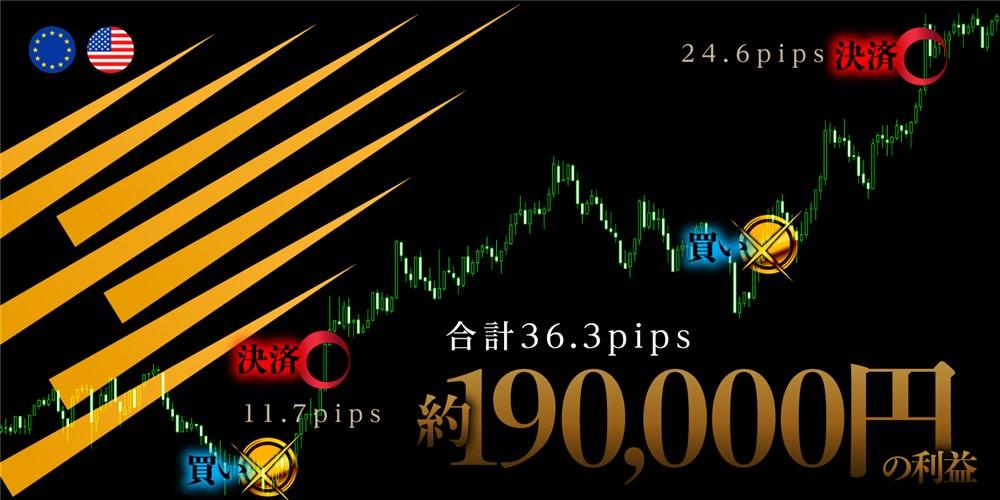 超秒速スキャルFX・トレード画像その1(販売ページから引用)