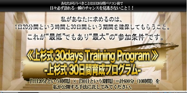 uesugi-30days-Training-Program
